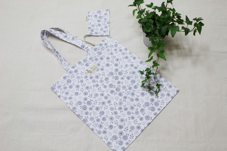 How to Sew Eco Friendly Portable Shopping bag. DIY Photo Sewing Tutorial.