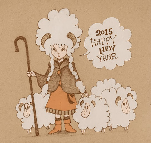 Zodiac 2015 - Year of the Sheep