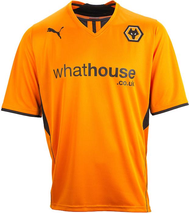 Puma Wolves 13 14 Home + Away Kits Released - Footy Headlines cdca10dea