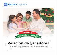 Relación de Ganadores: Campaña de Créditos por Navidad 2017