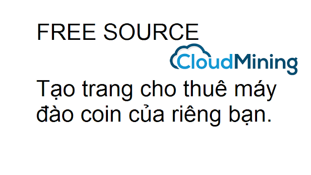 Free code cloud mining php