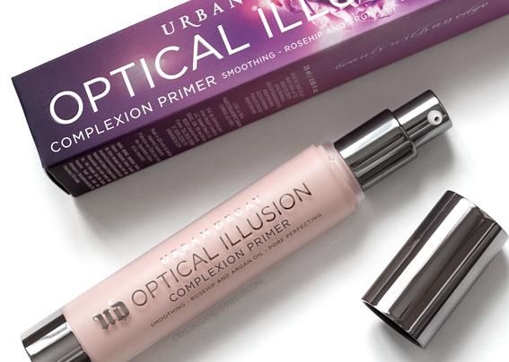 Urban Decay Optical Illusion Complexion Primer Review