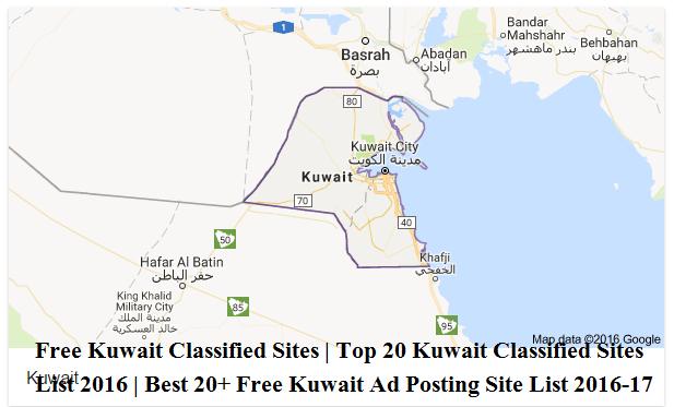Free Kuwait Classified Sites   Top 20 Kuwait Classifieds Sites List