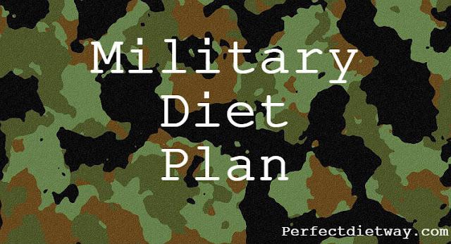 Military Diet Plan PDF