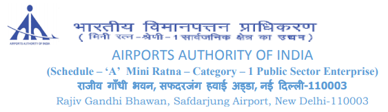 Junior Executive in Airports Authority of India