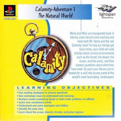 descargar calamity 1 the natural world psx mega