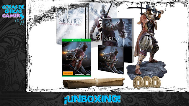 Unboxing Sekiro Shadows Die Twice