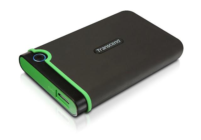 Transcend StoreJet M3 500GB External Hard Drive