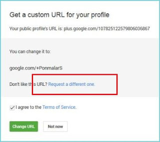 How to get Custom URL for your Google Plus Profiles / Pages