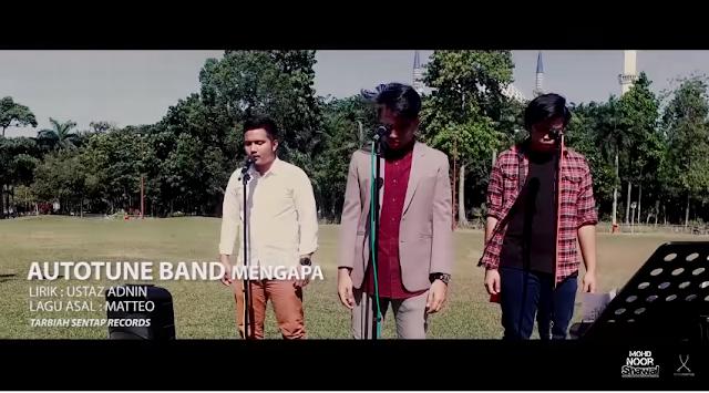 Lirik Autotune Band - Mengapa? (Panama Cover)