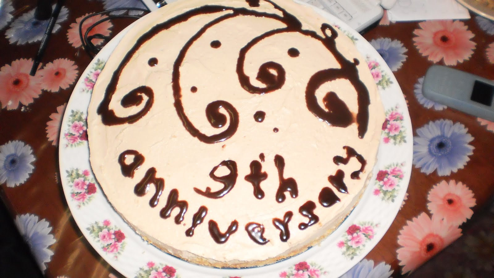 9th Year Wedding Anniversary Gifts: Sacredrecipes: My 9th Anniversary Cake