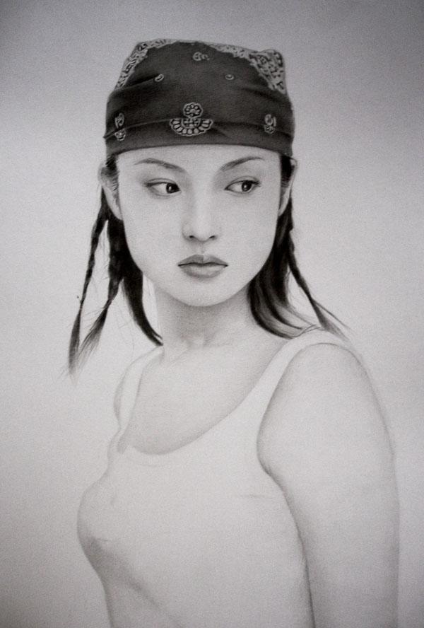 Как красиво нарисовать девушку японку парализован всю