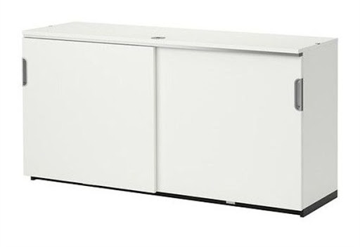 office storage cabinets with sliding doors