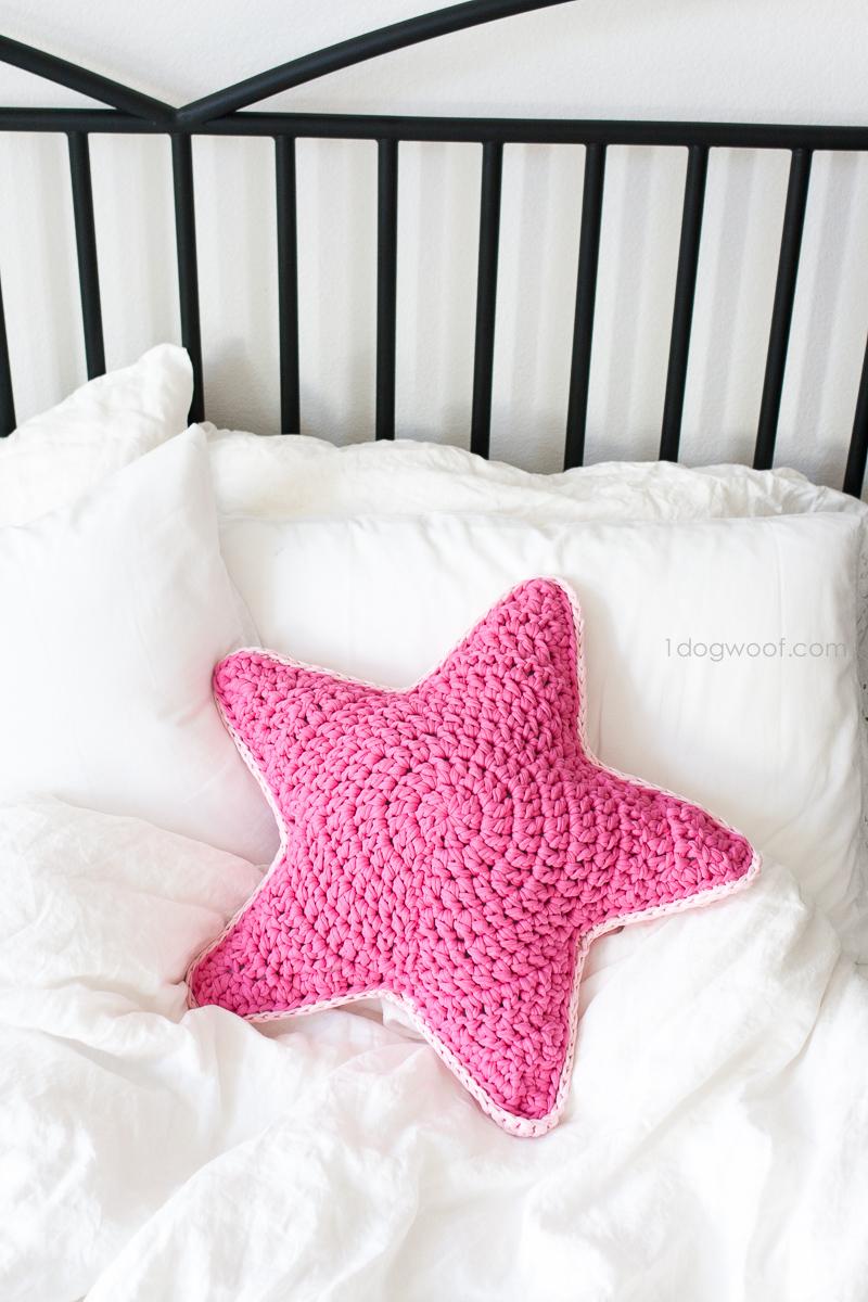 Mes Favoris Tricot Crochet Modèle Gratuit Un Coussin