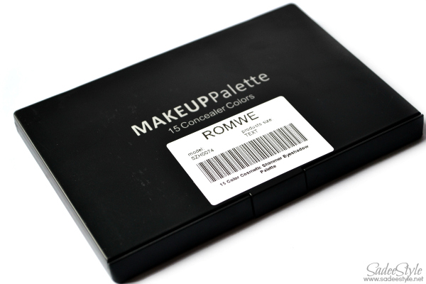 15 Color Cosmetic Shimmer Eyeshadow Palette