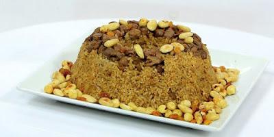 أرز بالخلطة بالكبد والقوانص - سالي فؤاد
