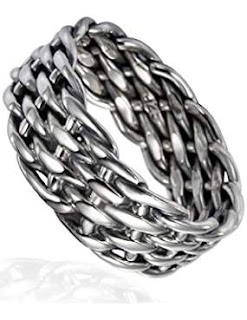 Chuvora Sterling Silver Band Ring