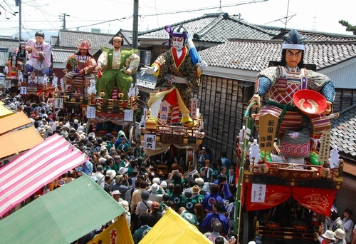 Mikuni Matsuri (doll float), Mikuni Town, Sakai City, Fukui Pref.