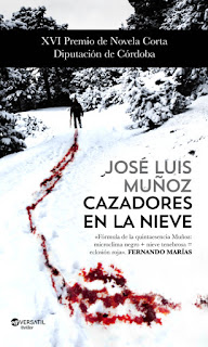 Cazadores en la nieve - José Luis Muñoz