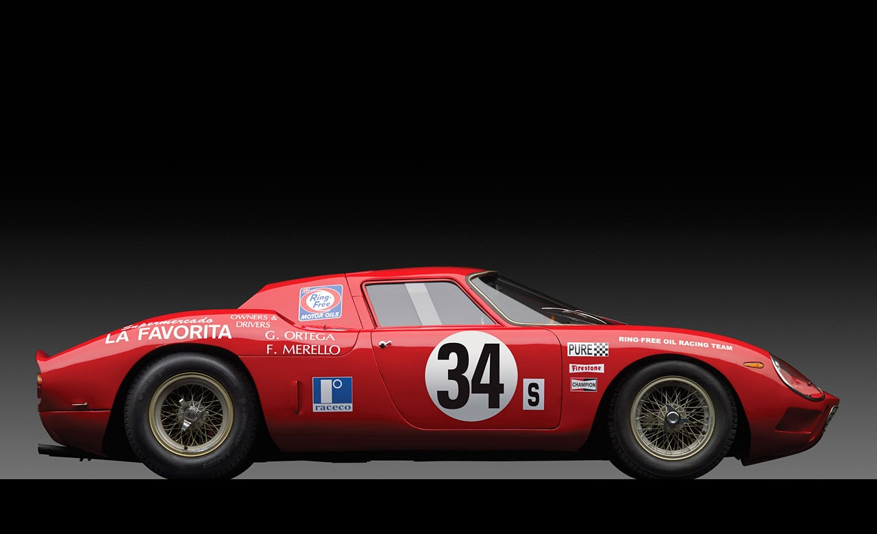 169 Automotiveblogz 1964 Ferrari 250 Lm Chassis 6017 Photos