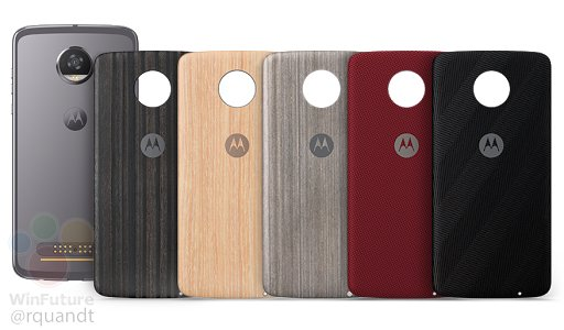Motorola Moto Z2 Play Grey Color Variant Along With Style Mods Leak Online