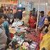 आगरा महोत्सव के 8वे दिन रही खरीदारों की खूब भीड़