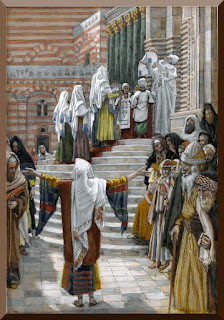 """The Presentation of Jesus in the Temple"" -- by James Tissot - PD-1923"