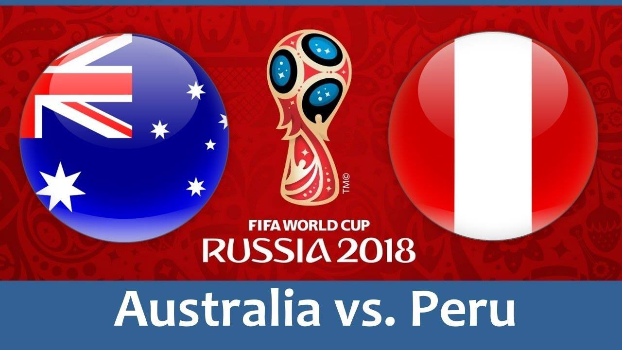 FIFA World Cup 2018 | Australia vs Peru | Football | 2-0
