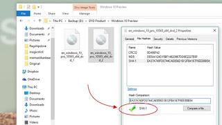 Cara Mudah Memastikan Keaslian File ISO Windows dan File Digital Lainnya