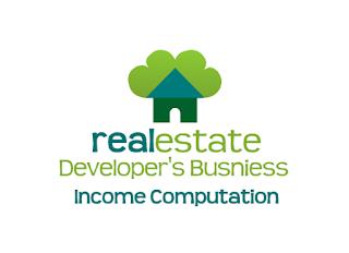 real estate developer's business income computation