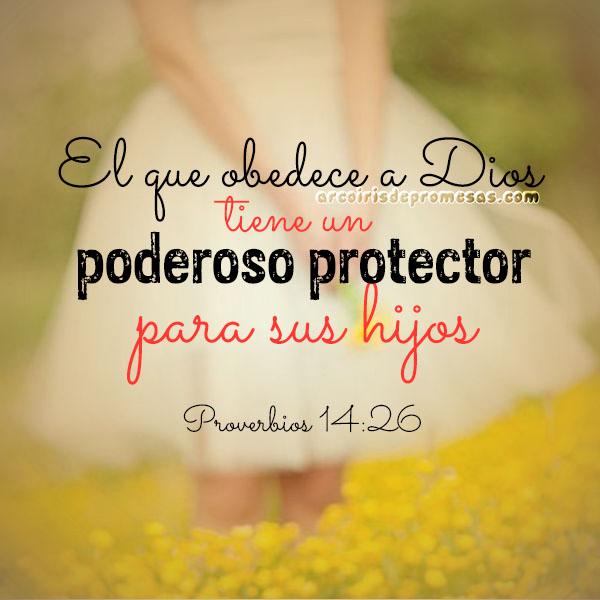 esperanza para tus hijos promesas de Dios con imágenes arcoiris de promesas