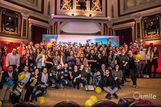 Smile Festival, El Festival de Publicidad y Humor abre su convocatoria de participación para el 2019.