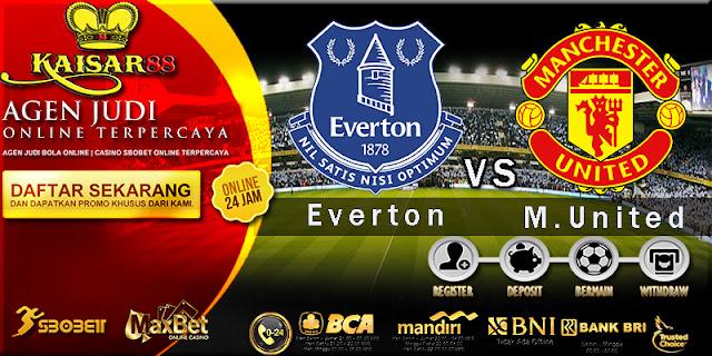 Prediksi Bola Jitu Liga Inggris Everton vs Manchester United 2 Januari 2018