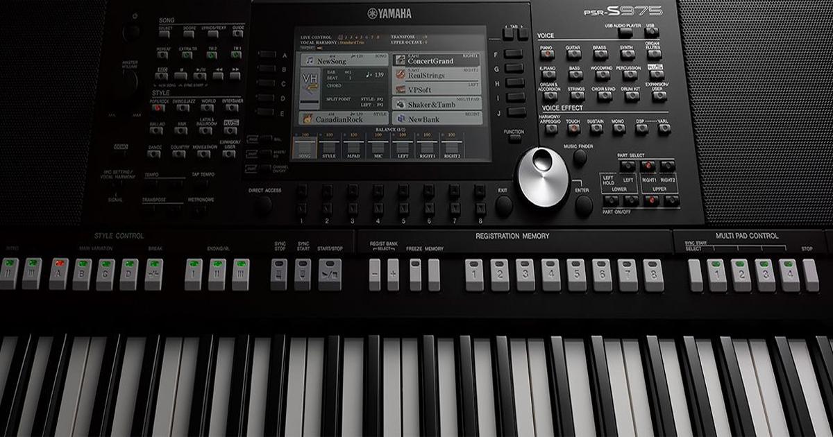 Đàn Organ Yamaha PSR-S975 - Đàn Organ Yamaha Chuyên Nghiệp