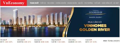 Quảng cáo trực tuyến banner được đặt ở vị trí ấn tượng với hình ảnh đẹp nhất trên VnEconomy – báo điện tử uy tín thuộc mạng lưới quảng cáo của Admicro.