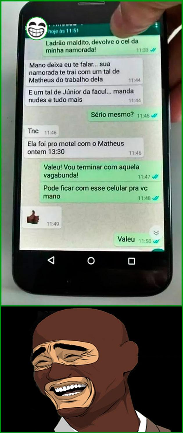 LADRÃO E FOFOQUEIRO