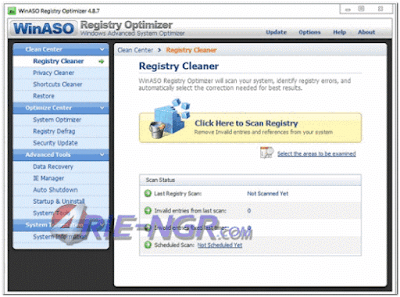 WinASO Registry Optimizer 5.3.0.0 Full Key