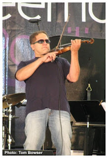 James Sanders - electrified violin and Proyecto Libre