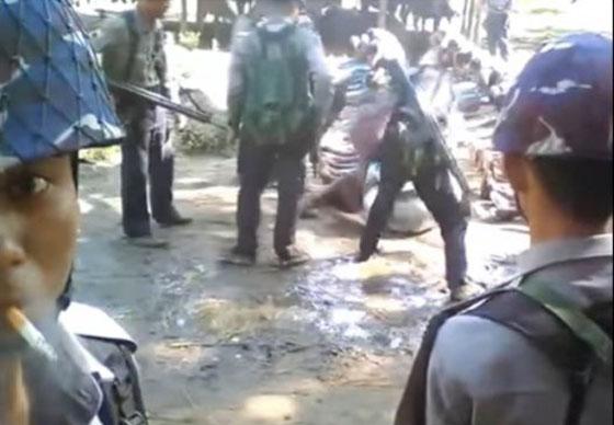Video Kekerasan Terhadap Etnis Rohingya Ini Tersebar Hebohkan Netizen