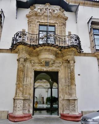 puerta, fachada, casa, palacio, marqués, bertemati, jerez, cadiz, cádiz, turismo, andalucia, españa, arquitectura