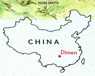 This National Geographic map of China is incorrect