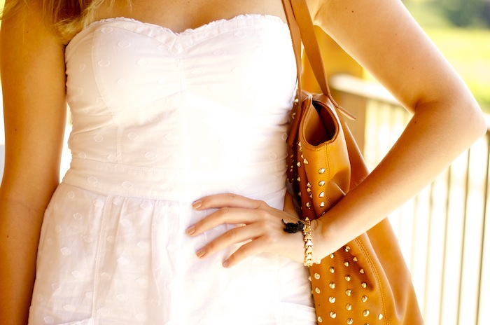 American Eagle Outfitters White Eyelet dress