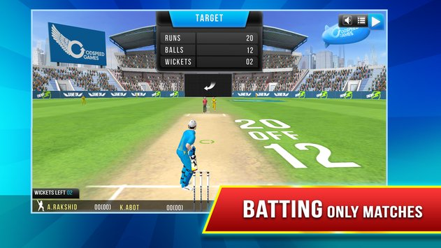Download GodSpeed Cricket League APK Game