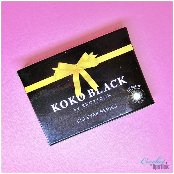 Kemasan Softlens Koko Black by Exoticon