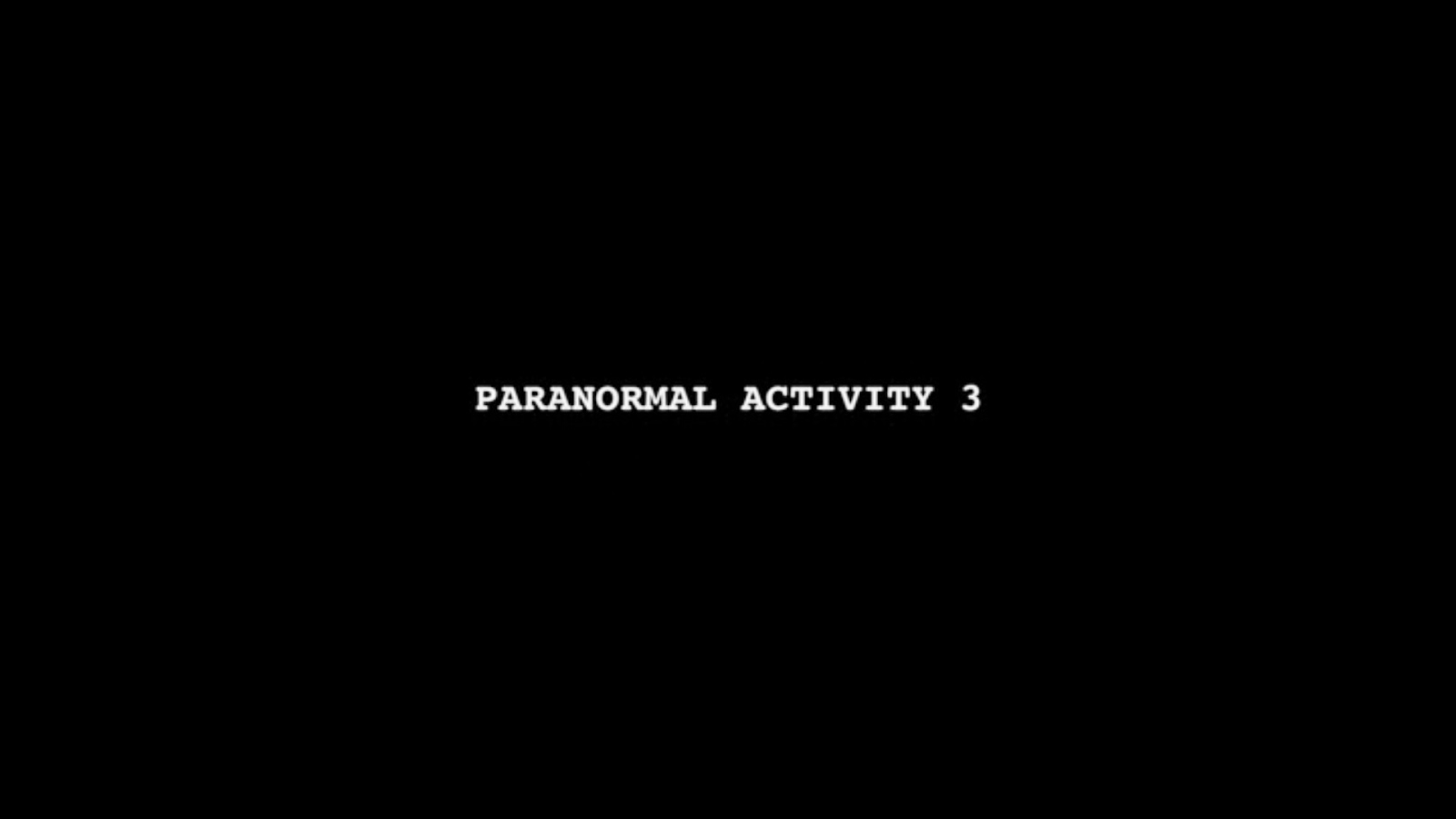 Set Jetter Movie Locations And More Paranormal Activity 3 2011