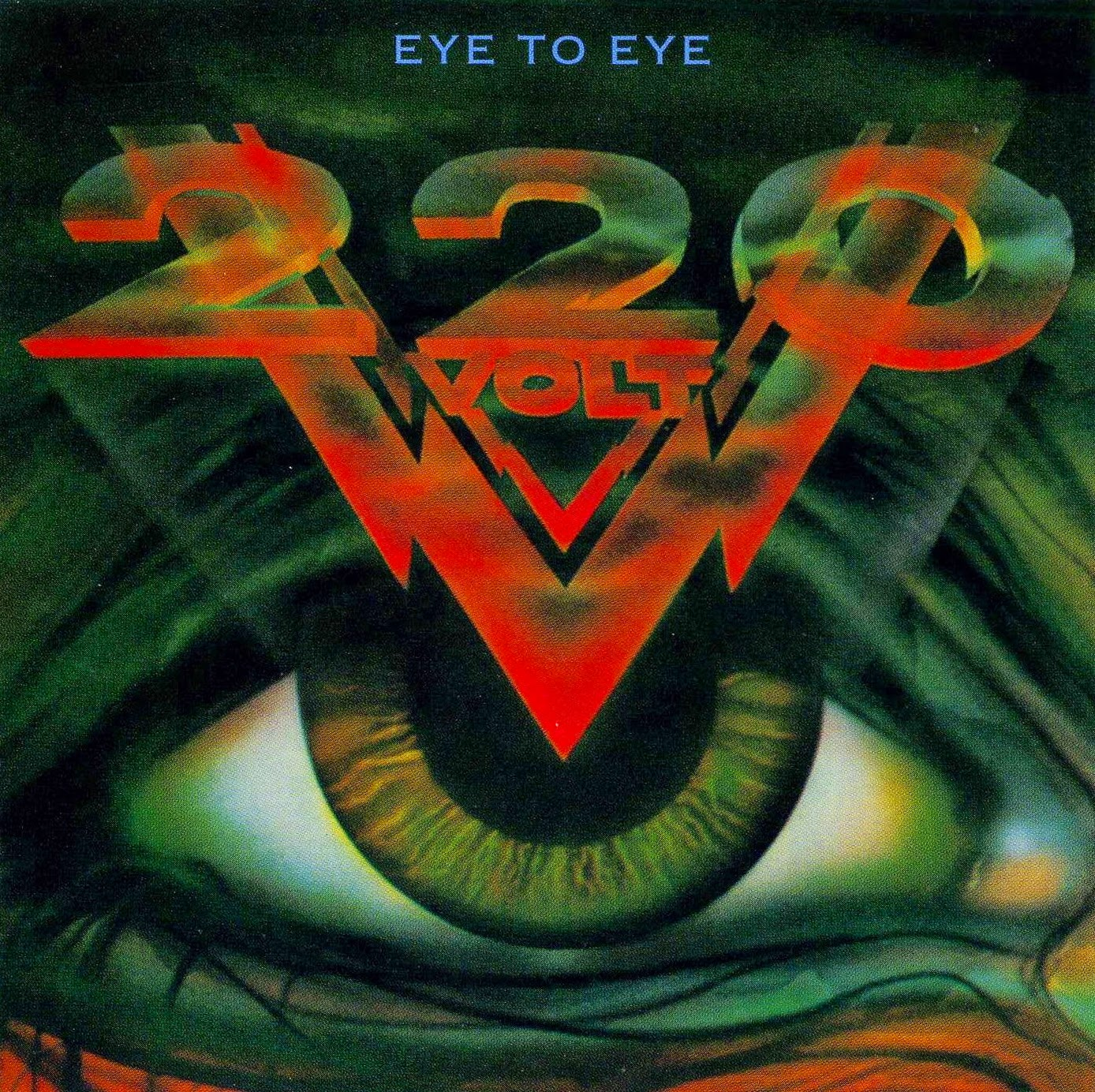 220 Volt Eye to eye 1988 aor melodic rock music blogspot full albums bands lyrics
