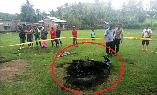 PARAH! Nekat Curi Kambing, Pemuda Berusia 20 Tahun Tewas Dibakar Massa