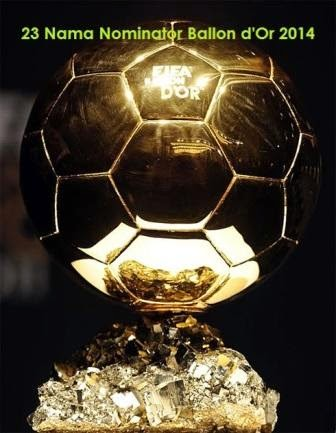 23 Nama Nominator Ballon d'Or 2014
