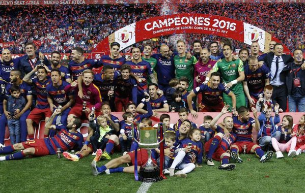 ¡Doblete del FCBarcelona! Campeón de la Copa del Rey