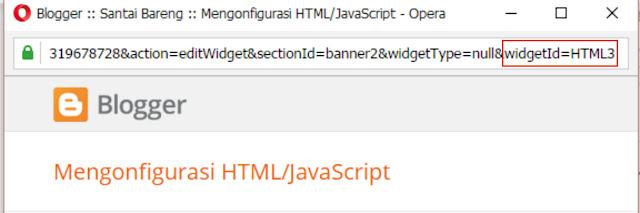 Menonaktifkan Widget Blog di Tampilan Versi Mobile